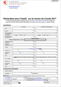 Assufisc-Declaration fiscale 2017 luxembourg - formulaire 100